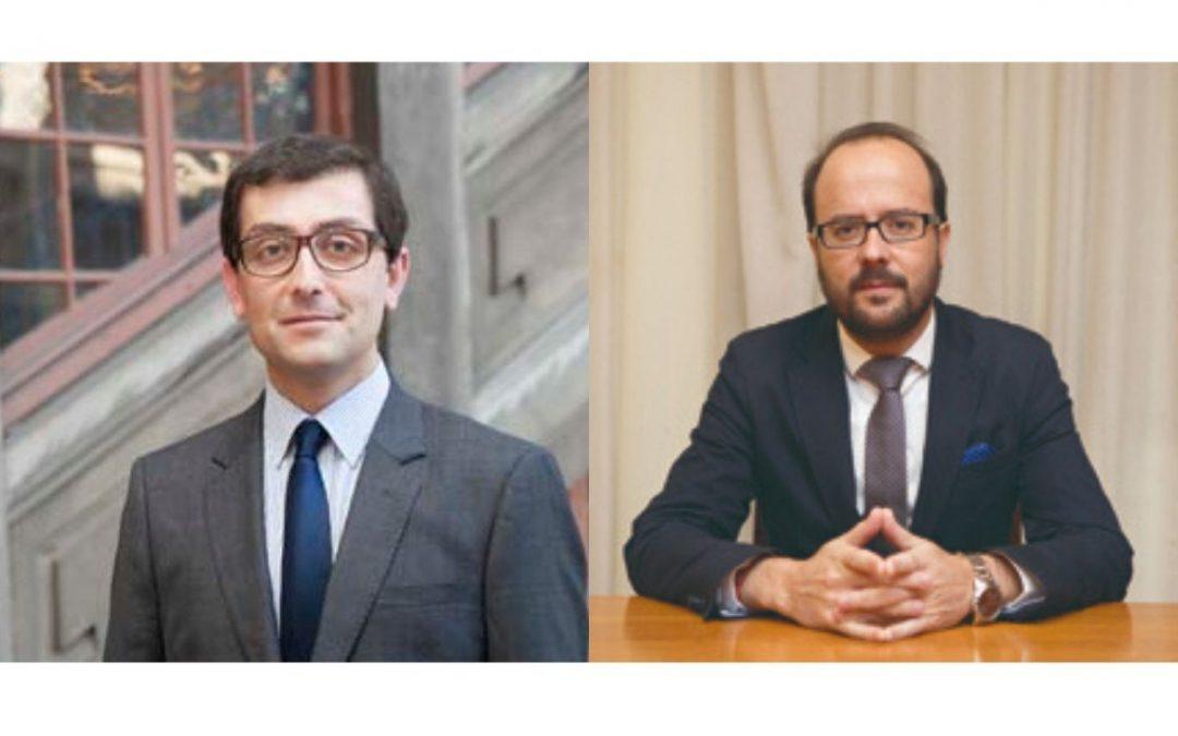 Profesores Jorge Larroucau y Diego Palomo se adjudican fondos en el concurso FONDECYT Regular 2020.